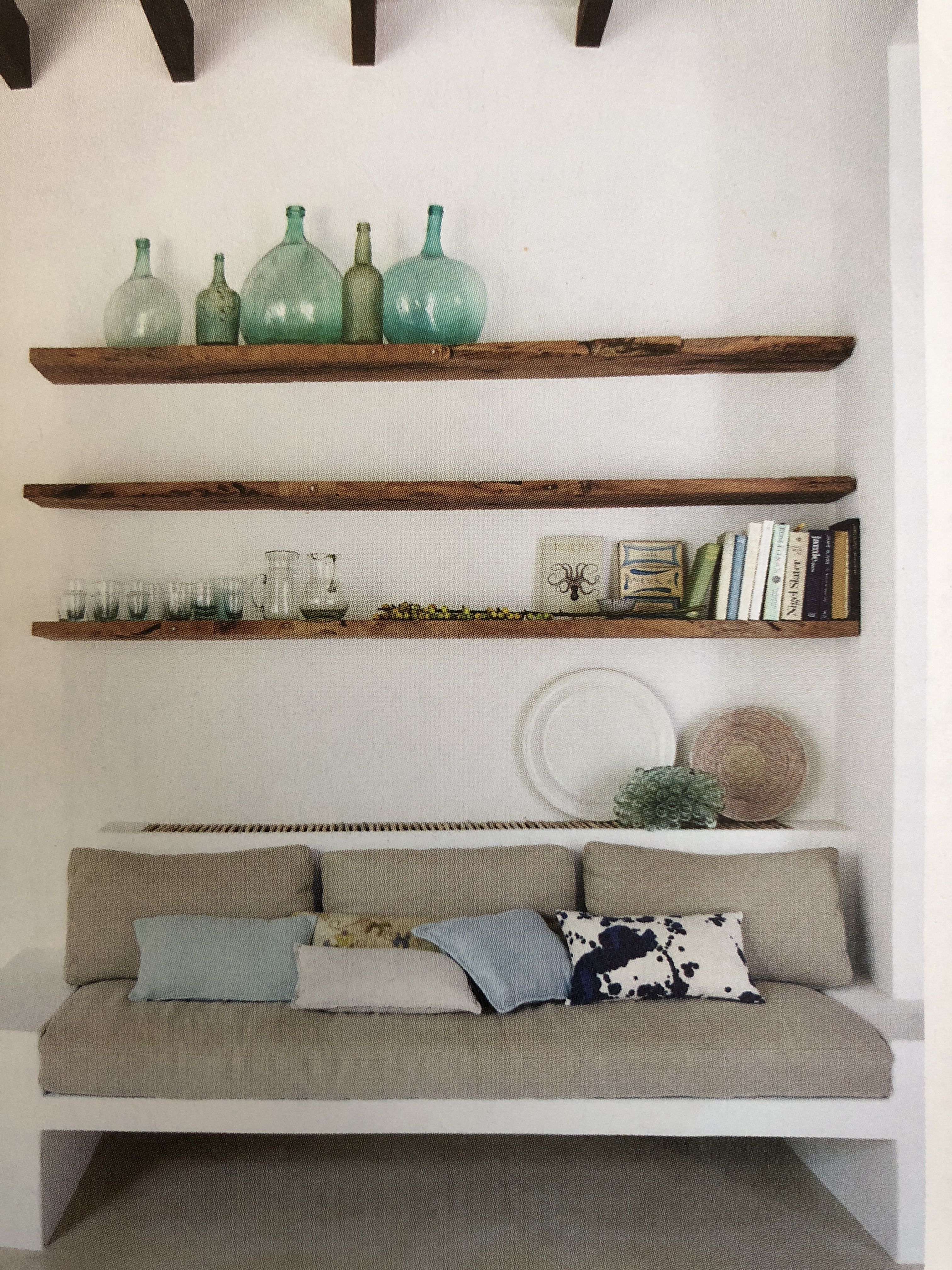 Built In Bench Domino | Interior_mexico | Floating Shelves