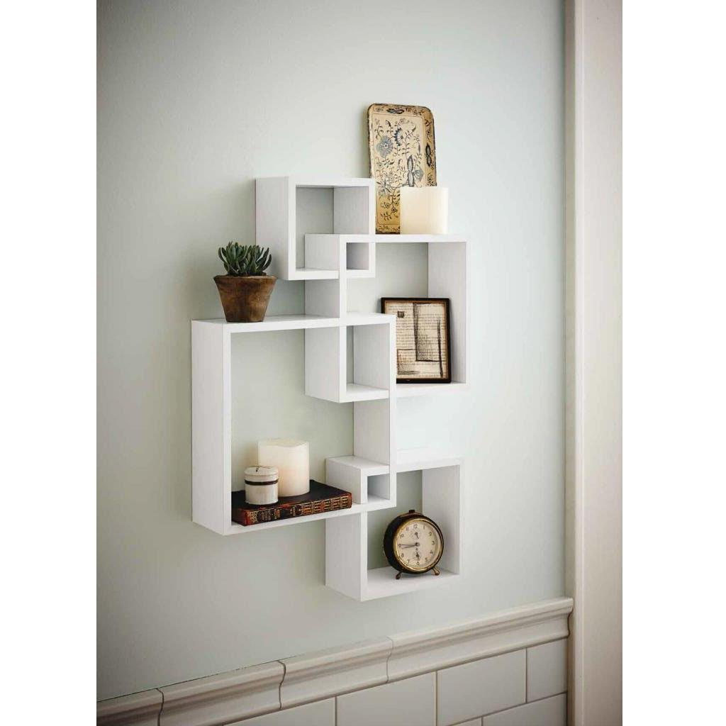 Details About 4 Cube Decorative Floating Wall Mounted Shelf Display Storage  Home Shelves Decor