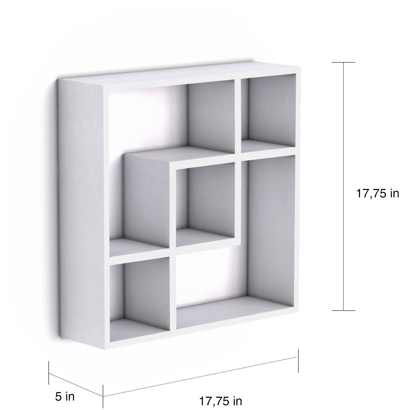 Moon Daughter Square Floating Wall Shelf Shelves
