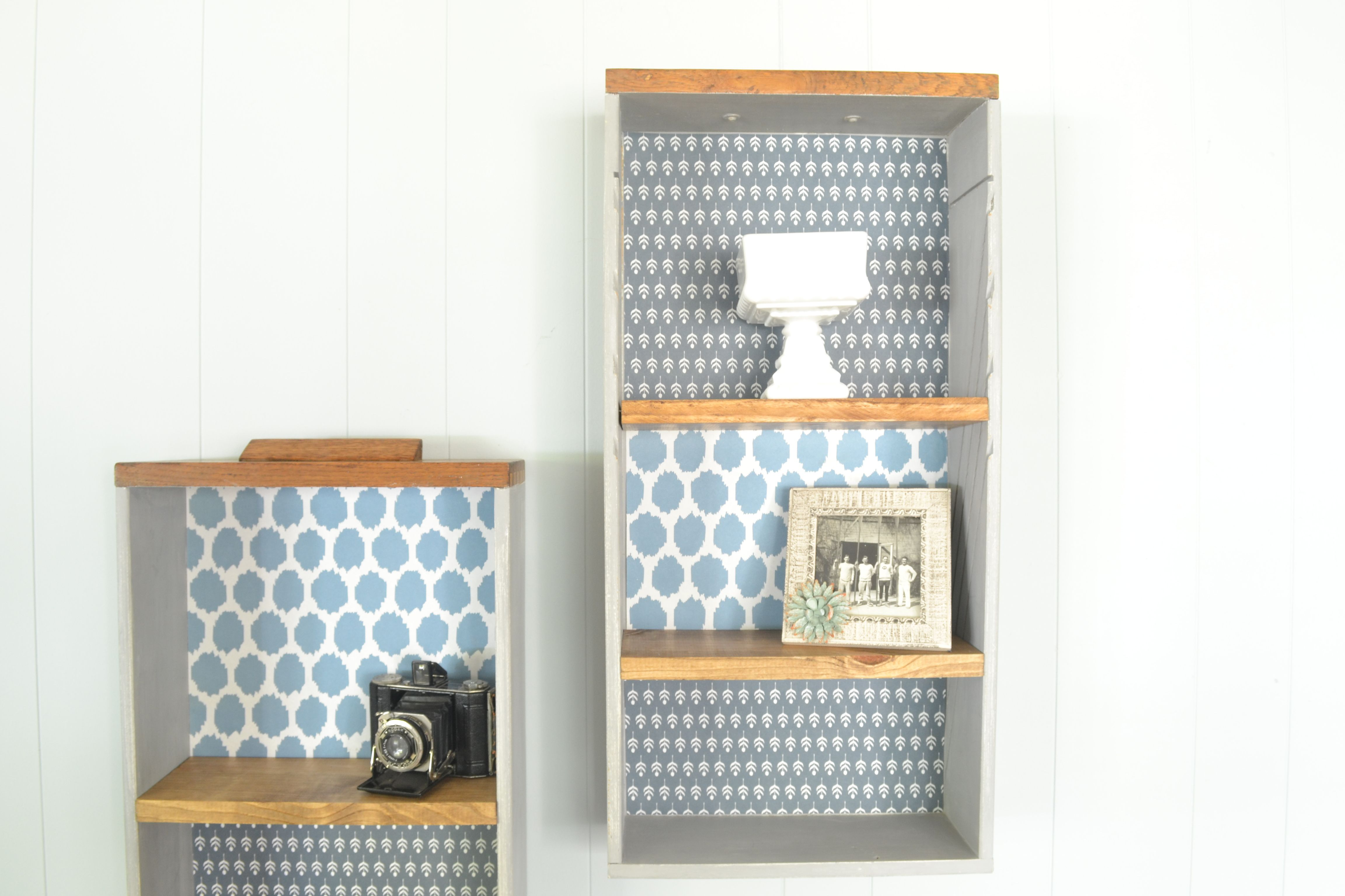 Upcycle Old Drawers Into Decorative Shelves | Craft Ideas