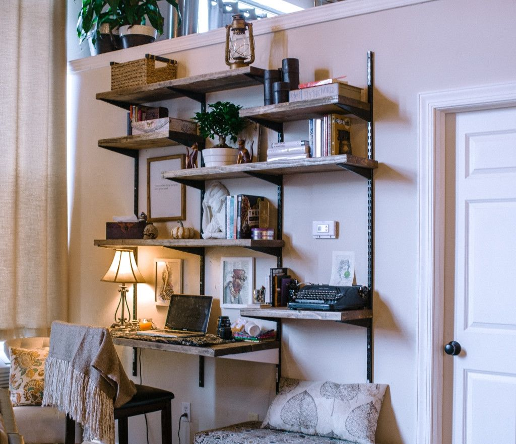 Twin Track Wall Shelving | Projects For The Home | Wall Shelves