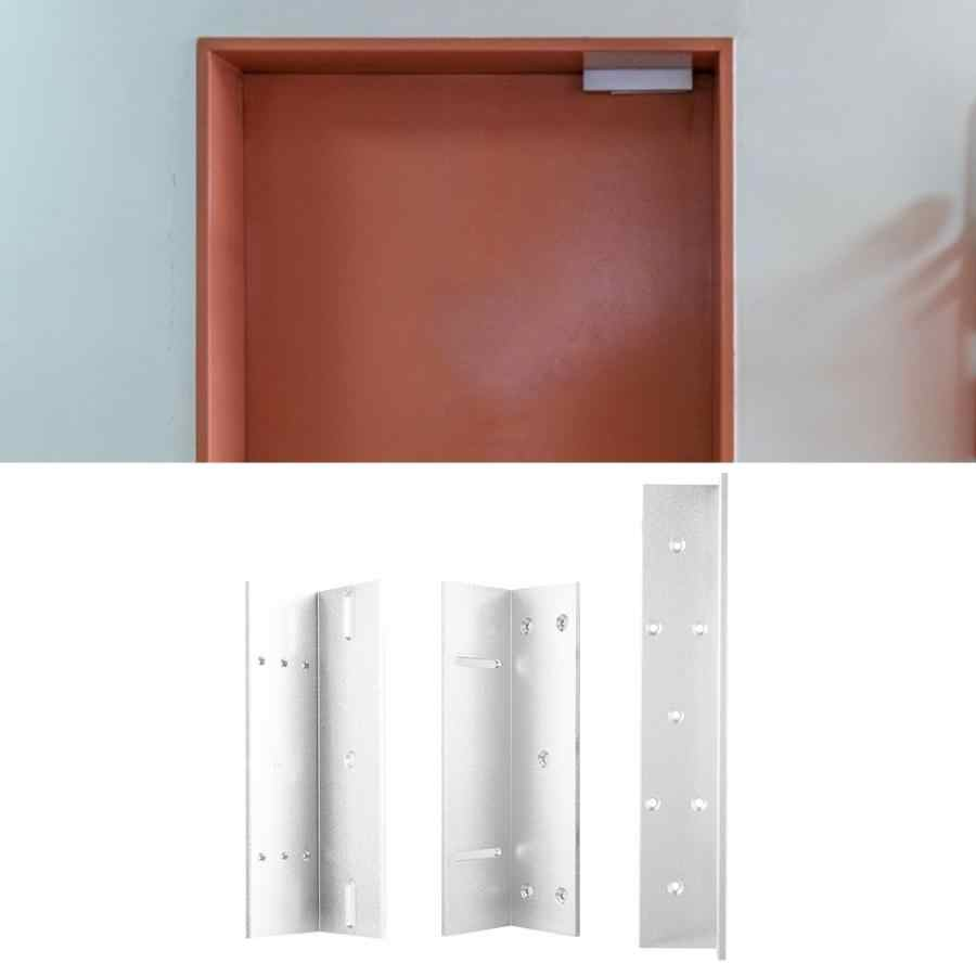 Aluminium Alloy Door Z L Mounting Bracket Holder Stand For Electric  Magnetic Lock Wall Brackets Shelves