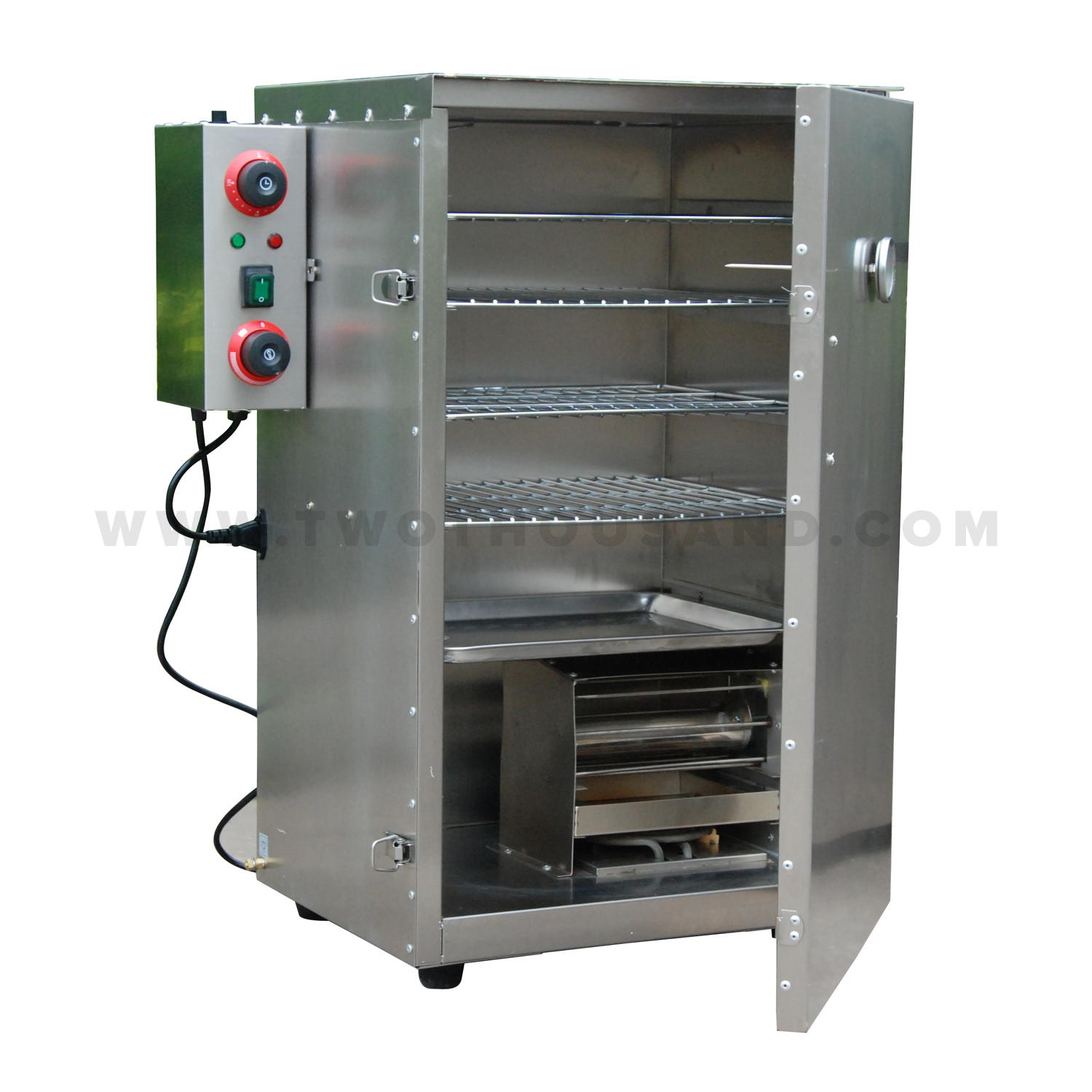 Electric 5 Shelves Stainless Steel Commercial Meat Smoker Tt-s03