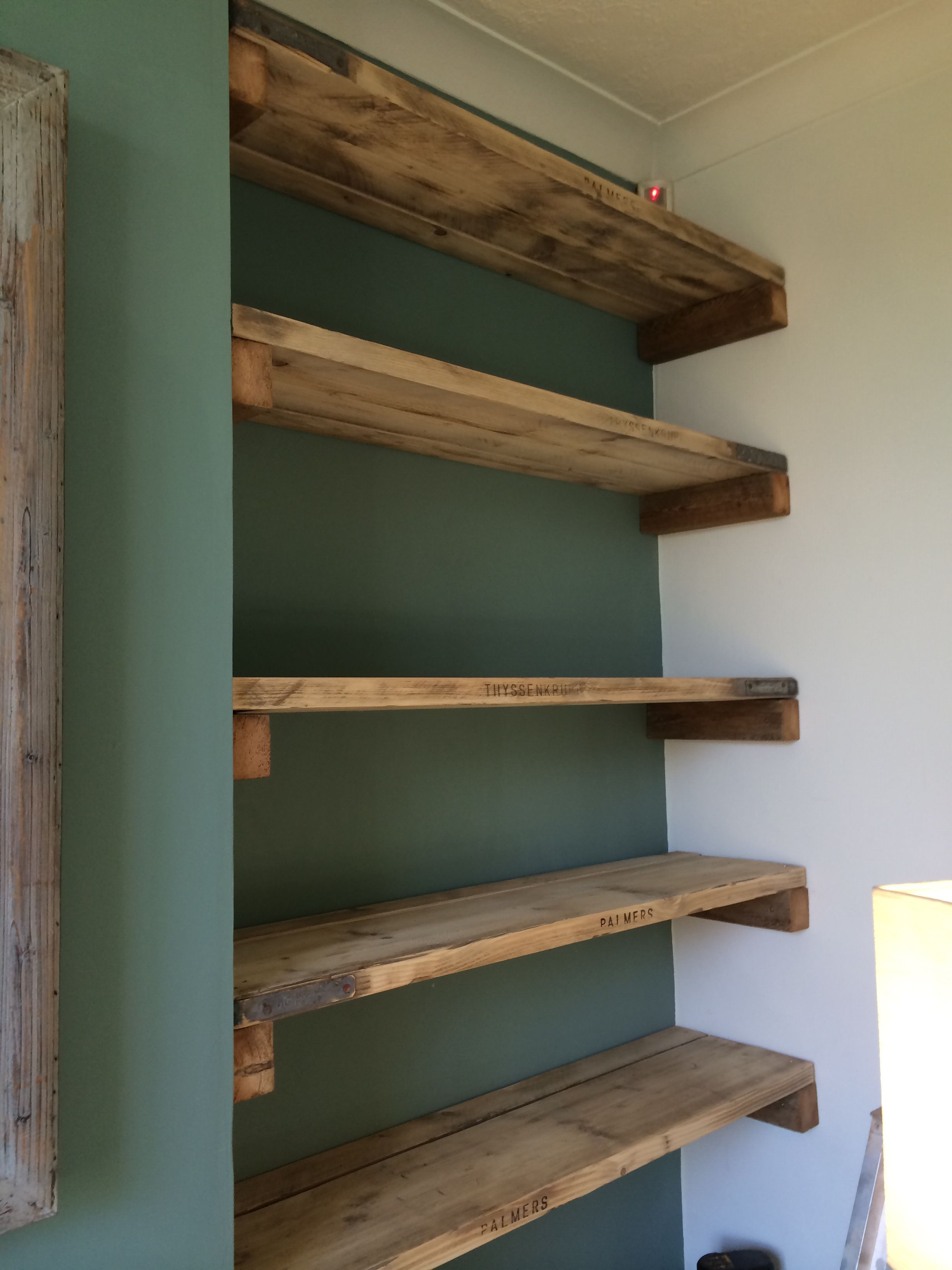 Scaffold Board Shelves | Wc | House Paint Interior, Home