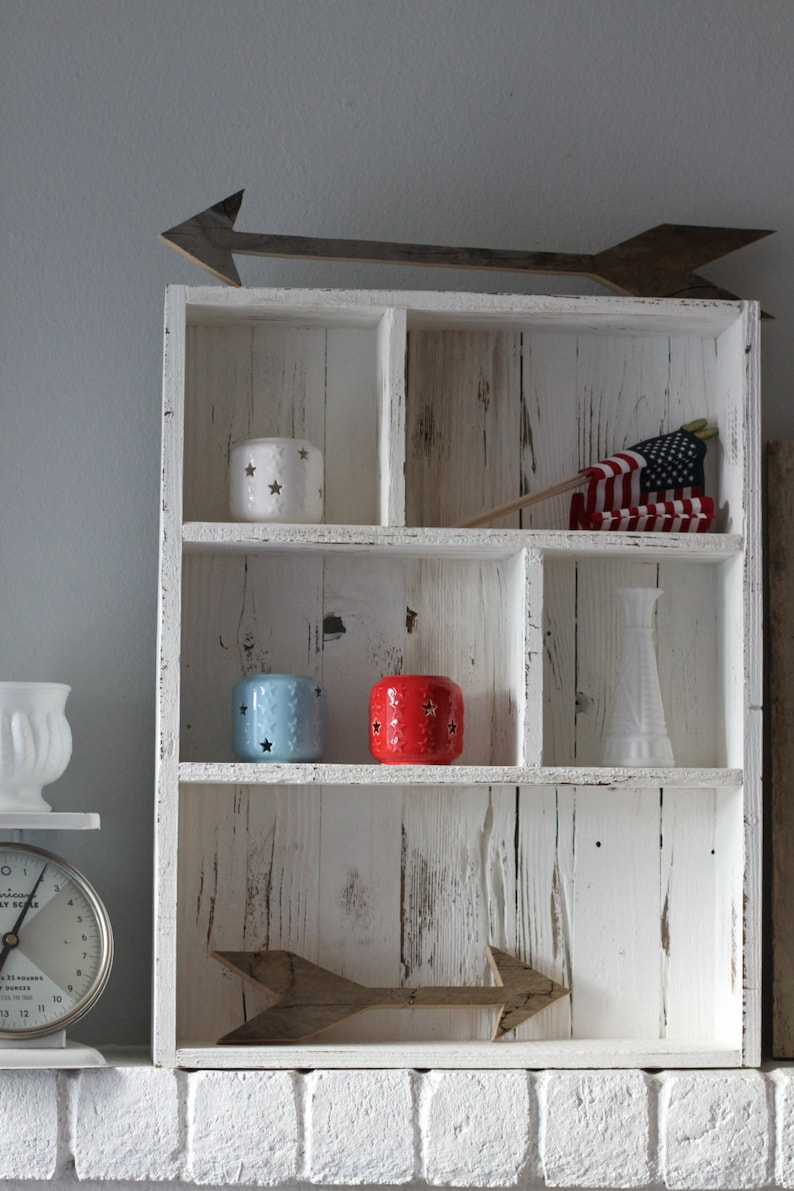Fathers Day Gift, Reclaimed Wood Shelves, Shot Glass Display, Collectable  Shelf, Cubby Shelf, Entryway Shelf,bathroom Shelf,bathroom Storage