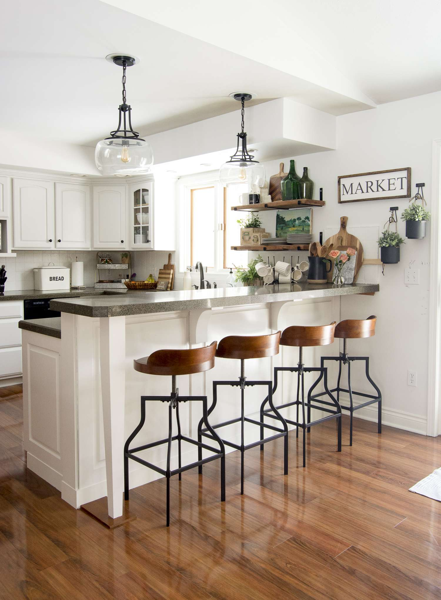 How To Decorate Kitchen Shelves | Grace In My Space