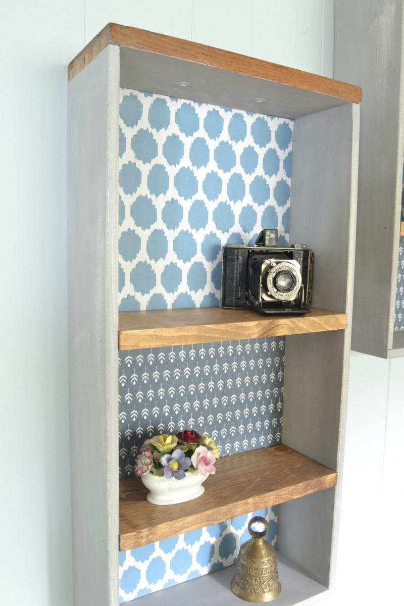 Upcycle Old Drawers Into Decorative Shelves - Refresh Living