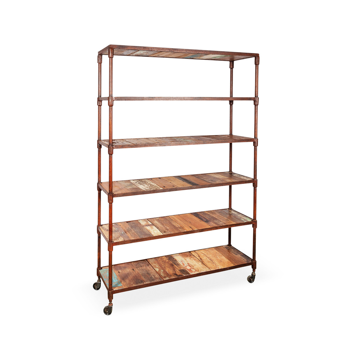 Industrial Recycled Timber Shelves