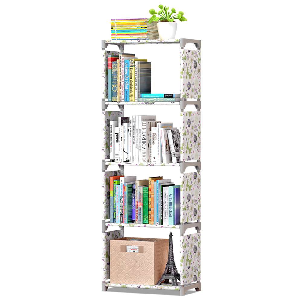 Us $128 23% Off|3/5/6 Shelf Bookcase Book Shelves Bookshelf Creative  Storage Shelf Bin Book Display Shelving Unit Storage Organizer-in Home  Office