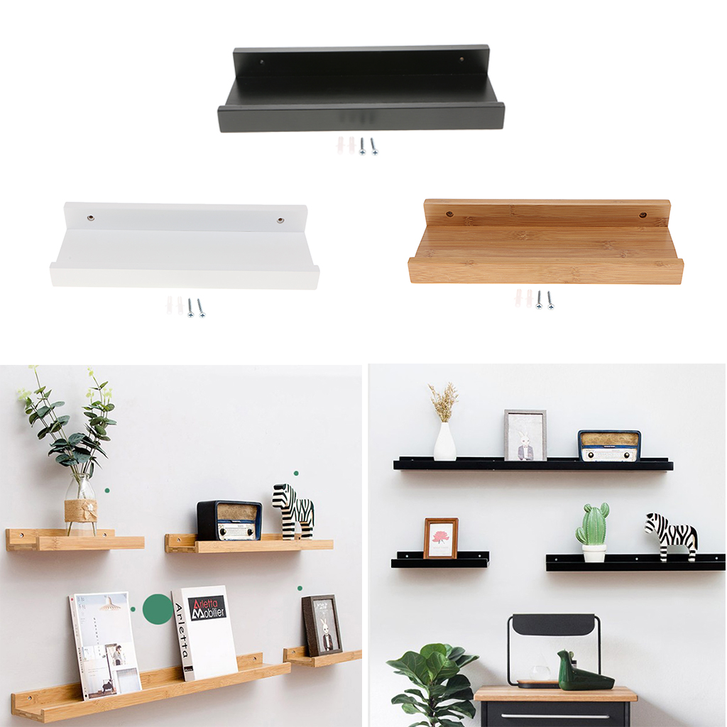 Us $3142 |floating Shelves Trays Bookshelves And Display Bookcase Modern  Wood Shelving Units For Kids Bedroom Wall Mounted Storage Shelf-in