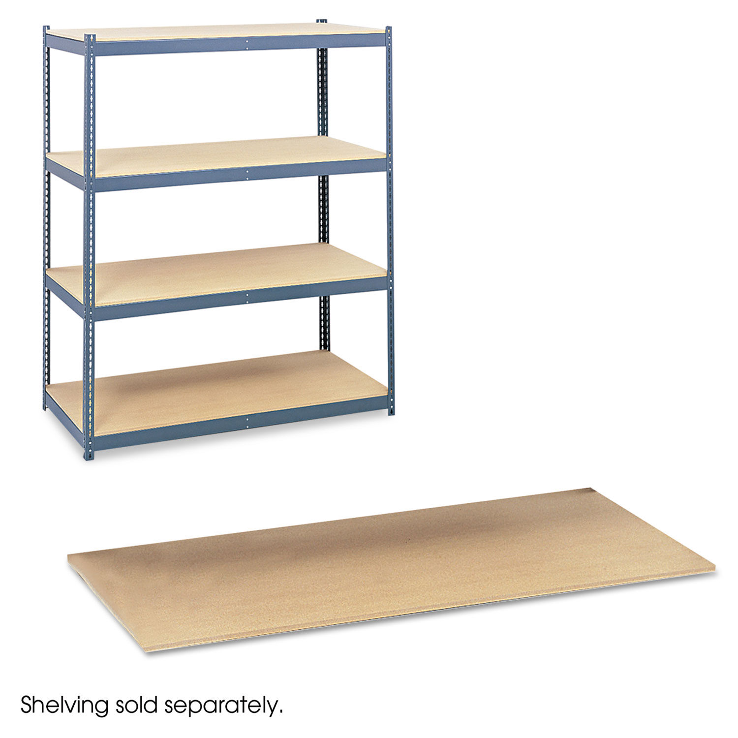 Particleboard Shelves For Steel Pack Archival Shelving By Safco