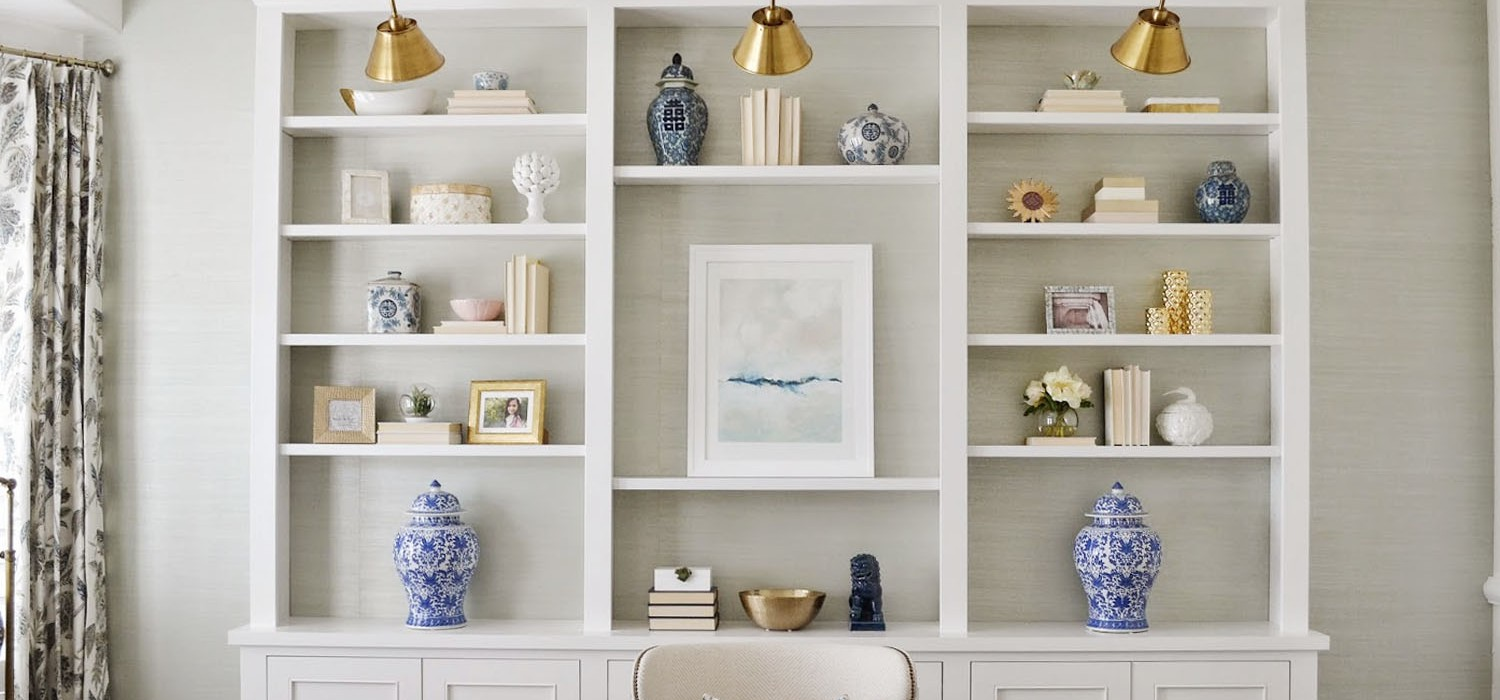7 Secrets To Styling Your Shelves | Kathy Kuo Blog | Kathy Kuo Home
