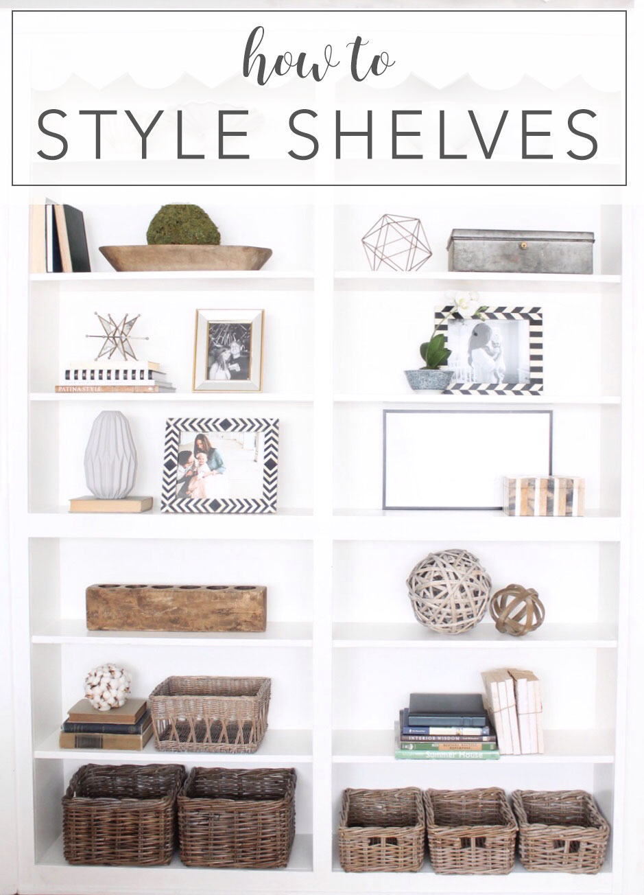 12th And White: How To Style Shelves