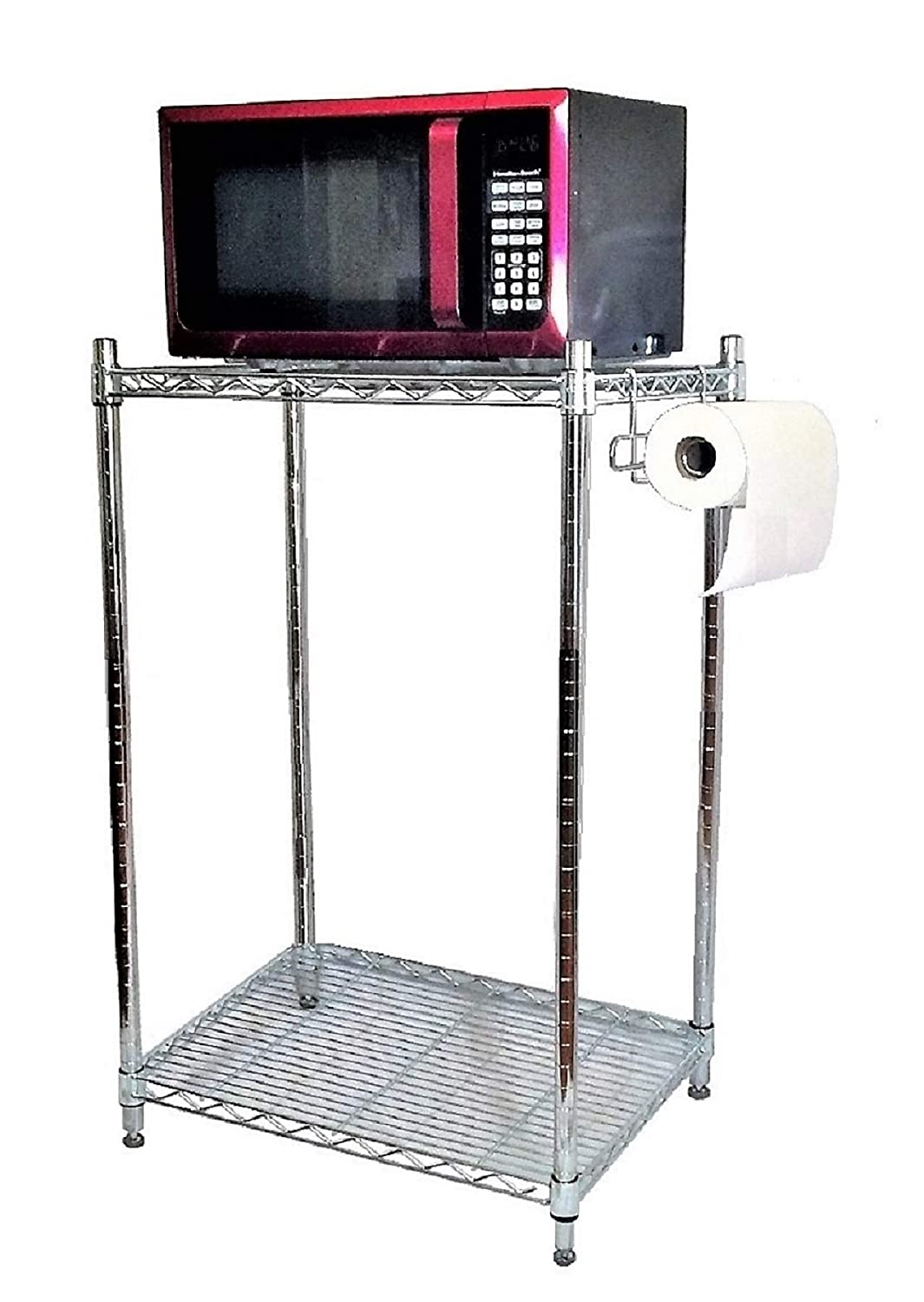 Mini Fridge Stand Storage Cabinet With Shelves For Microwave College