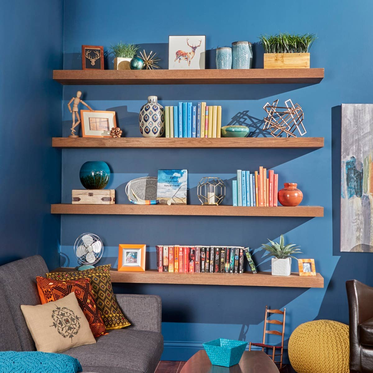 How To Build Floating Shelves — The Family Handyman