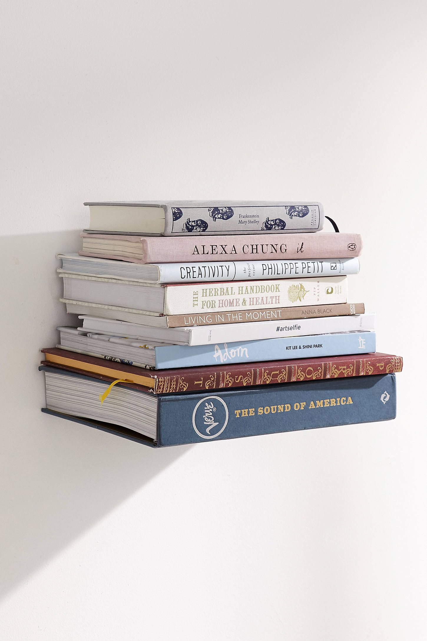 Invisible Book Wall Shelf In 2019   Home Stuff   Wall Bookshelves