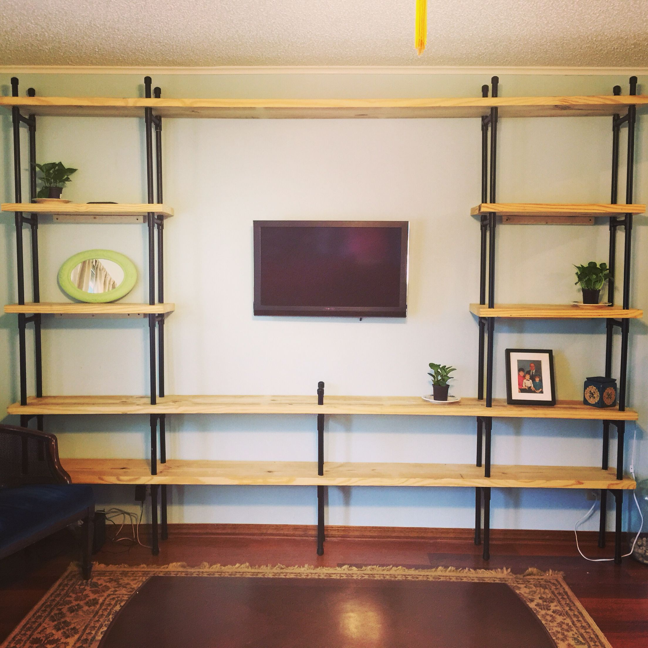 Completed Pvc Pipe Shelves …   Things To Make/ Build In 2019…