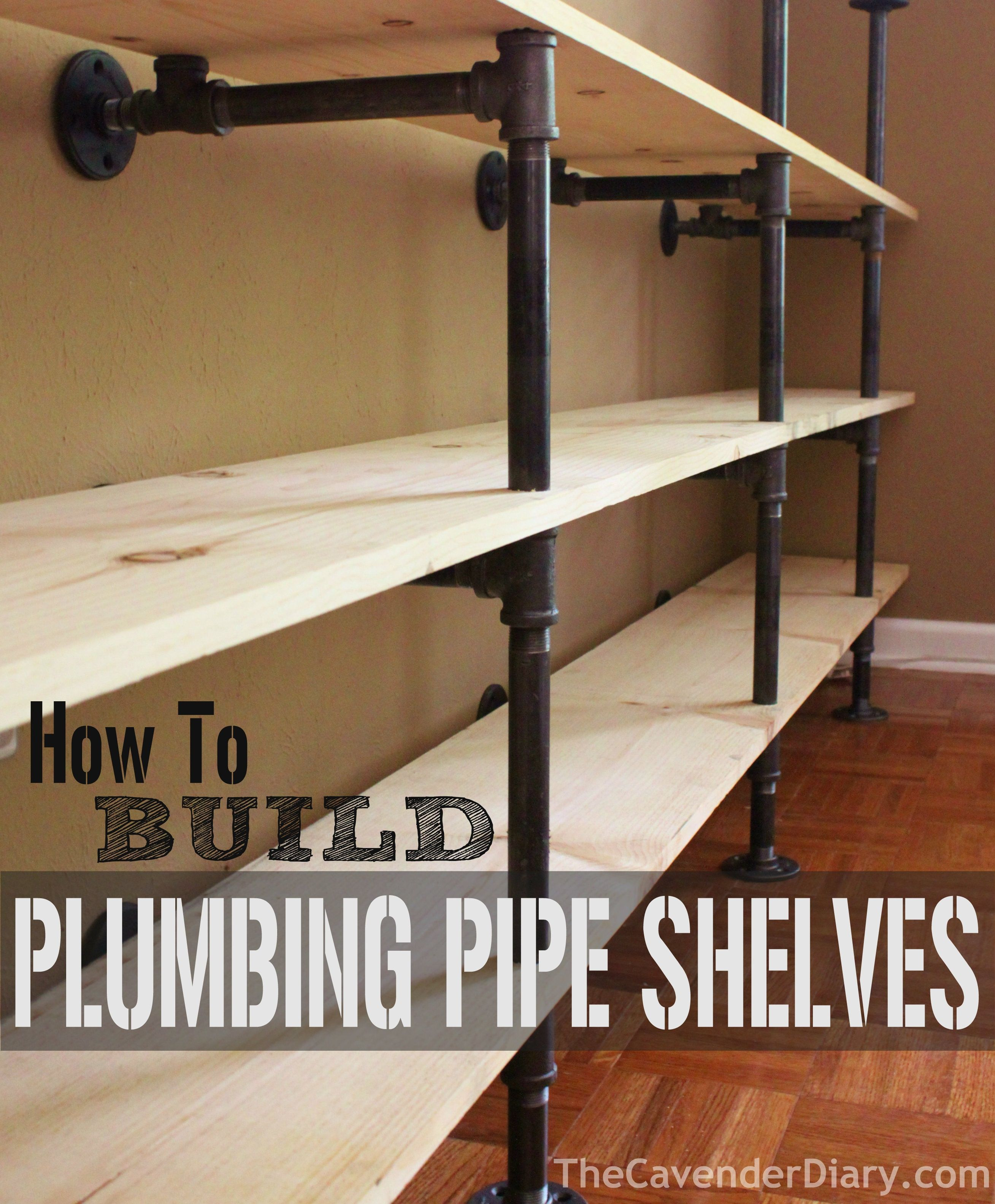 How To Build Plumbing Pipe Shelves   Practical Projects   Plumbing