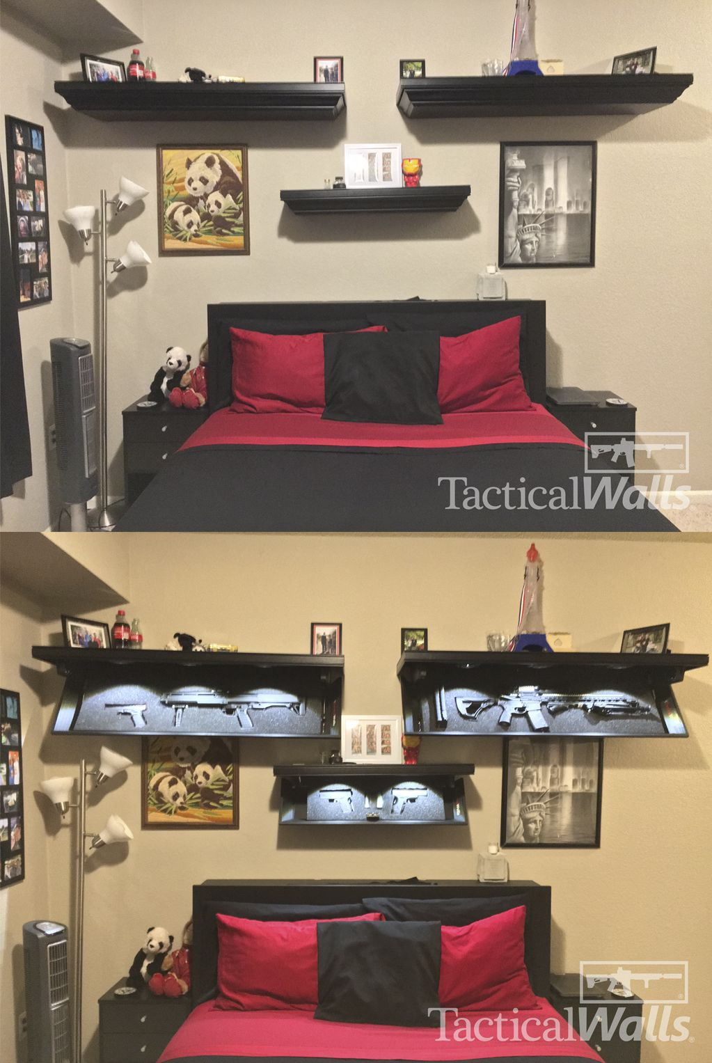 Decorate Like You Mean It With The Tactical Walls 1242 Shelves