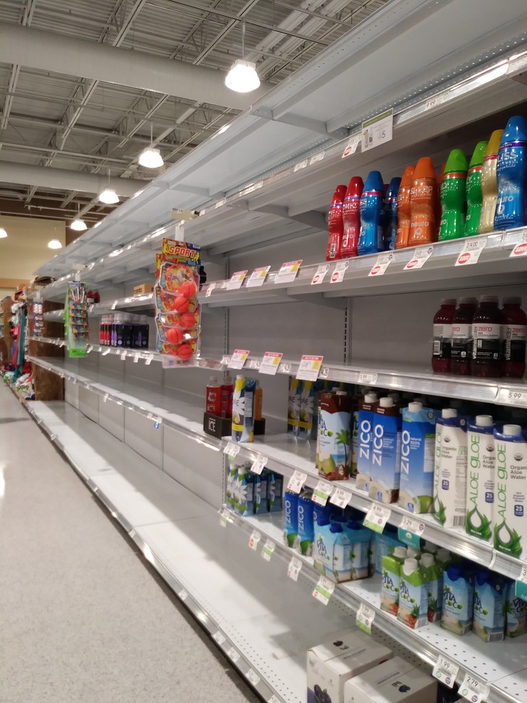 Empty Water Shelves At Publix, Pre-irma | Just A Few Days Be… | Flickr