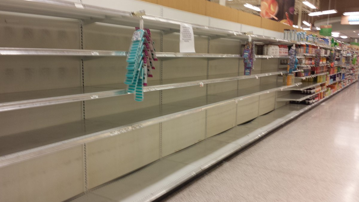 """Alex Nitzberg On Twitter: """"empty Shelves At A Publix In Central"""