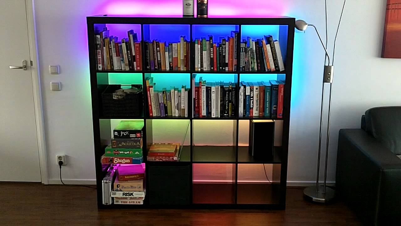 Shiftpwm Controlling Rgb Led Strips In My Book Shelves