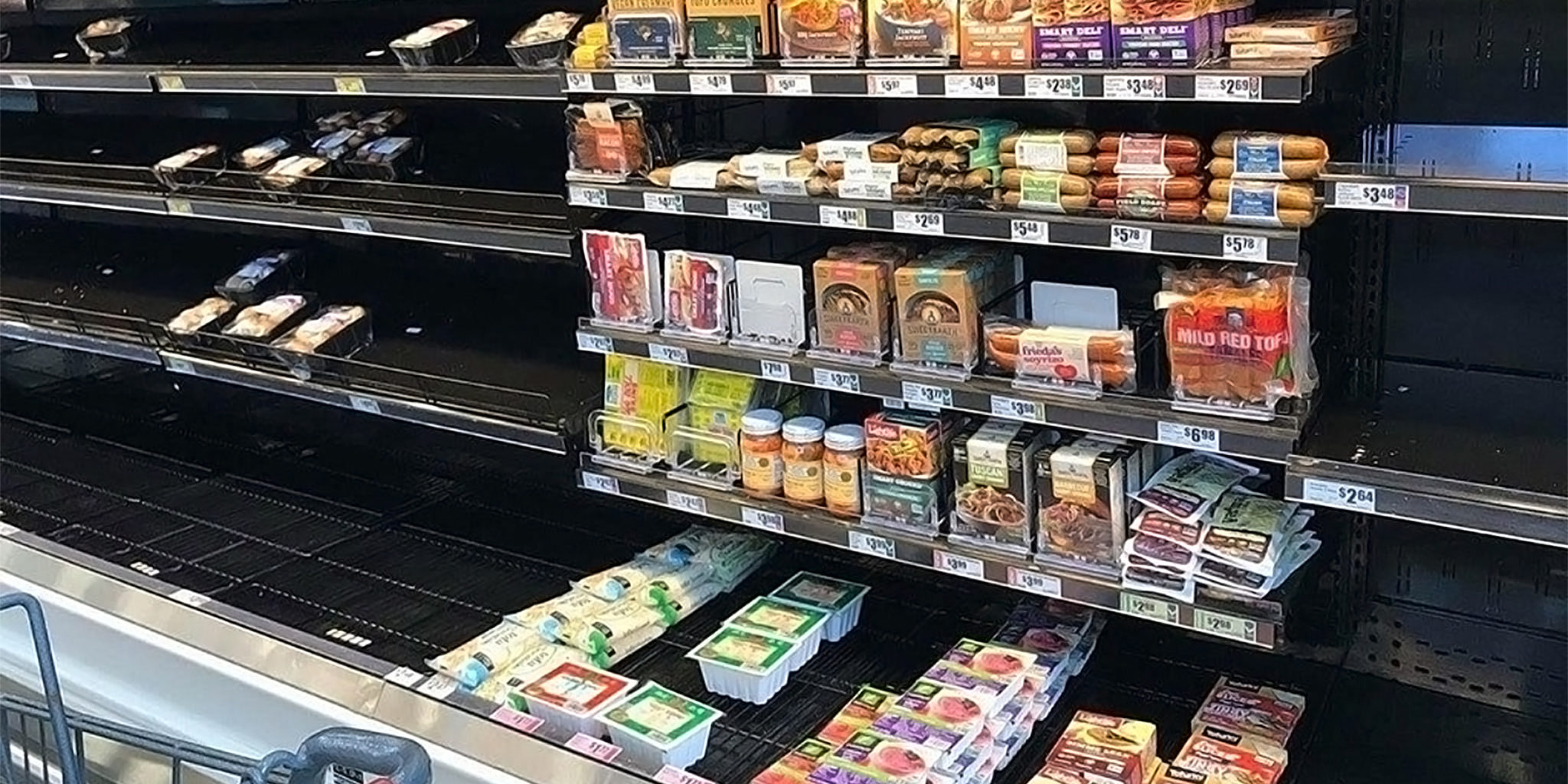 Vegan Meat Substitutes Stay On Shelves In Wake Of Harvey