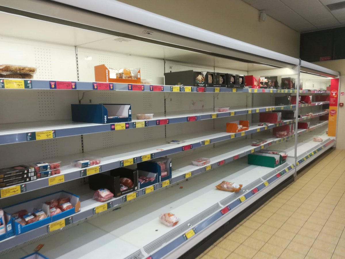 """Paul Rowley On Twitter: """"my Local Aldi Bread And Meat Shelves"""
