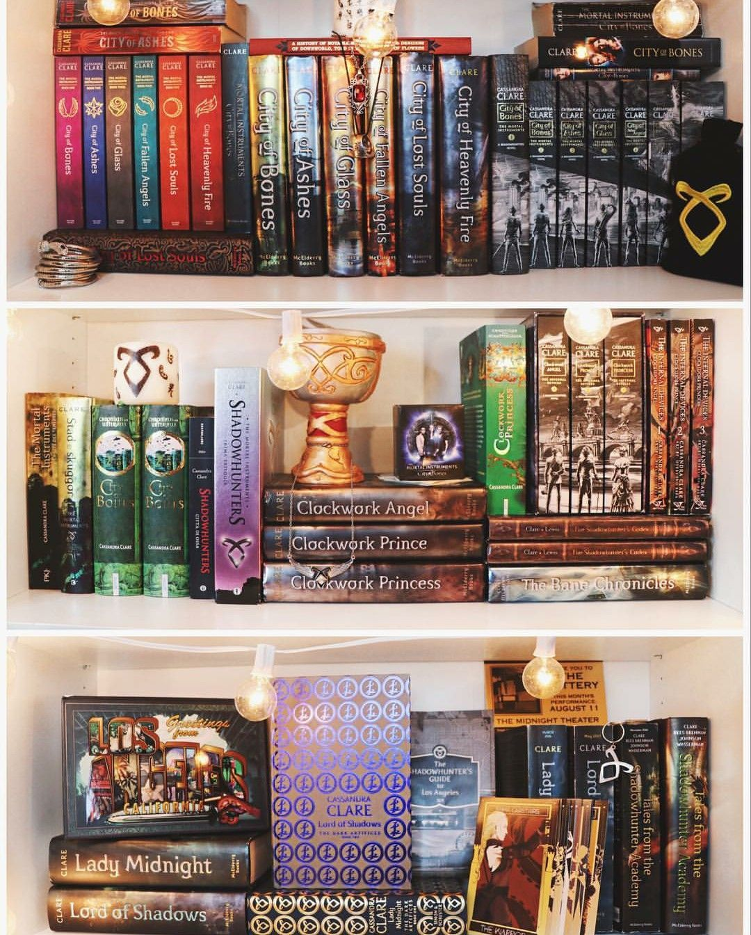 Shadowhunters Shelves By Emmmabooks   The Shadowhunter Chronicles In