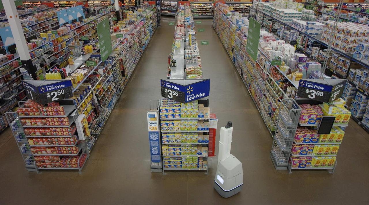 Wal-mart's New Robots Scan Shelves To Restock Items Faster - Reuters