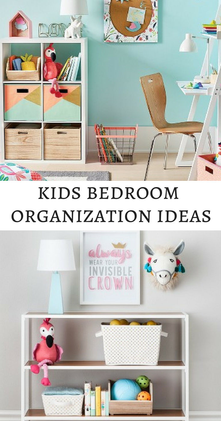 Organize Your Kids Bedroom With Some Modern Shelves And Bins Cool