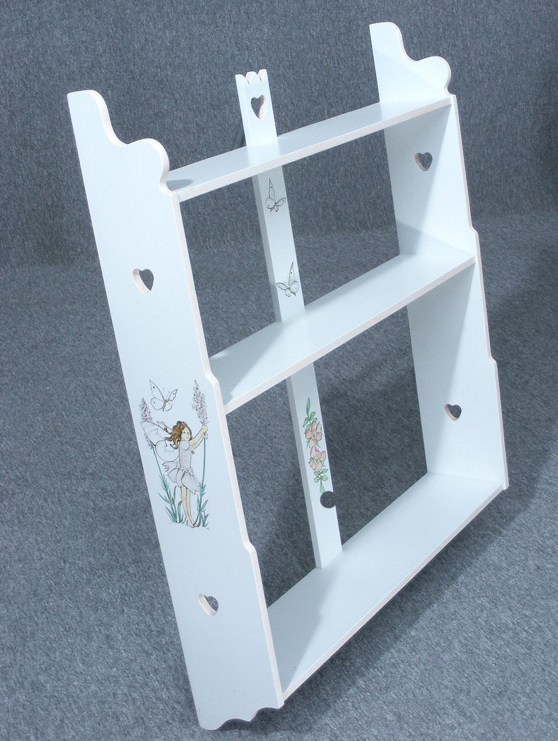 Hanging Shelves Dragons Of Walton Street Flower Fairy , Hand Painted  Shelves, Child's Shelves, Wall Shelves, Delivery Available