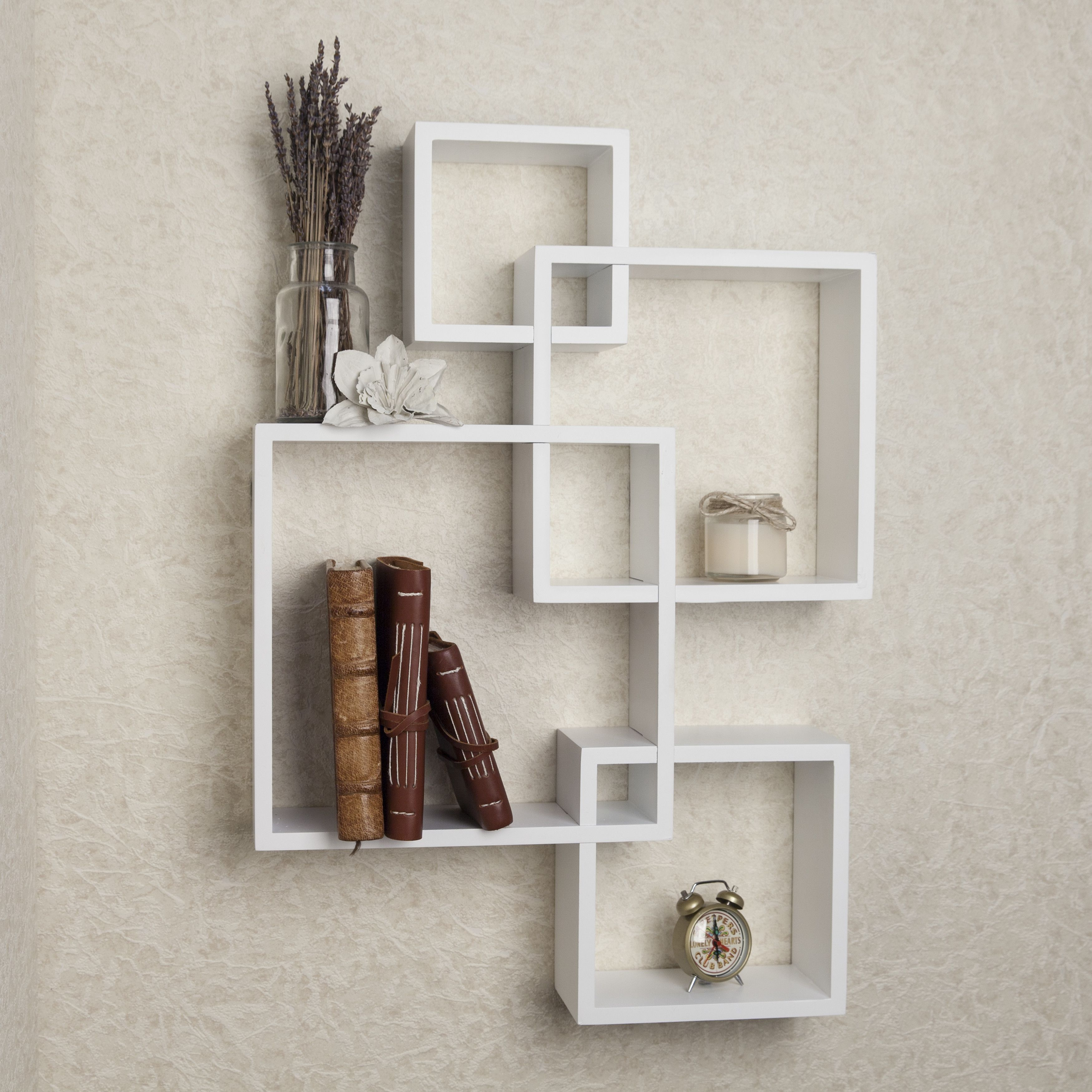 Intersecting Cubes Shelf By Langley Street | Shelves | Wall Mounted
