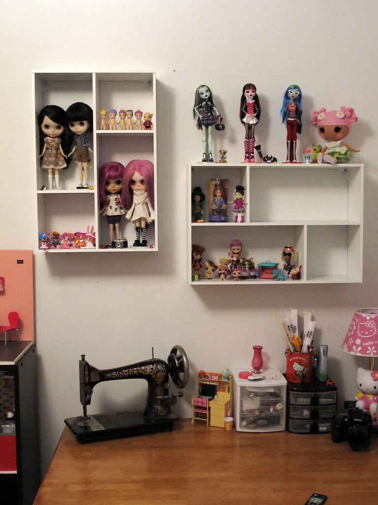 Shelves - Wip | I'm Sure I'll End Up Changing This A Bit I … | Flickr