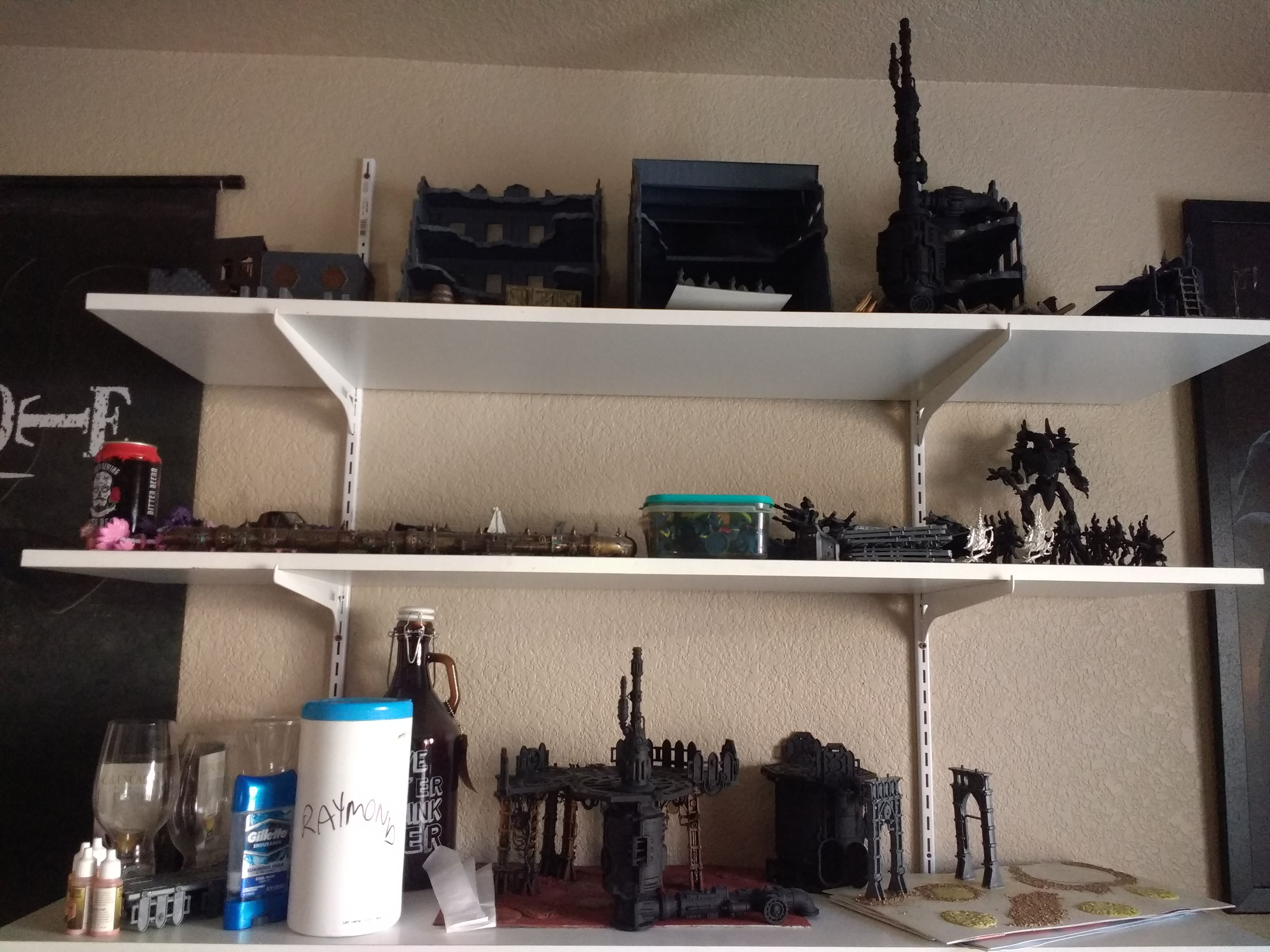 So We're Doing Wip Desks? How About Wip Shelves - Album On Imgur