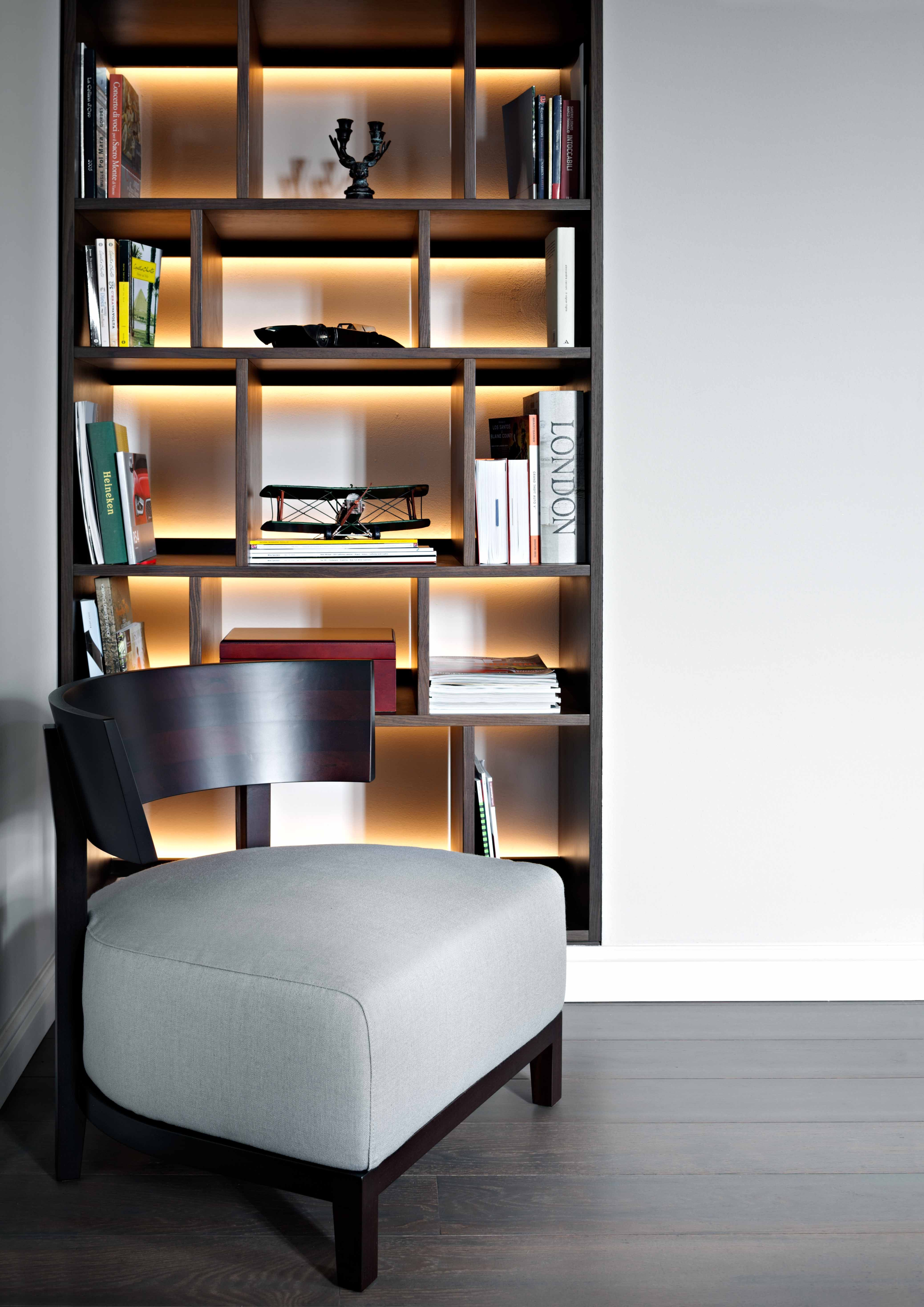 Think Of Shelves As A Window In The Room Or Even Like A Wall Light