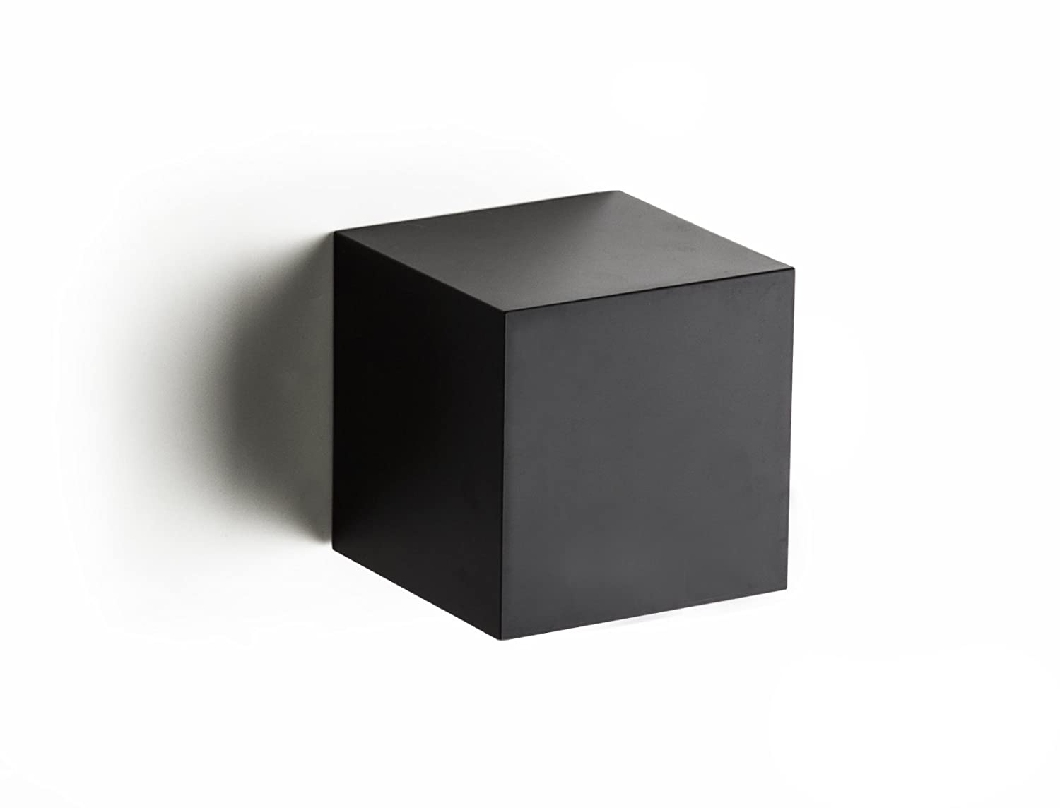 Pixel Cube Floating Wall Display Shelves (black): Home