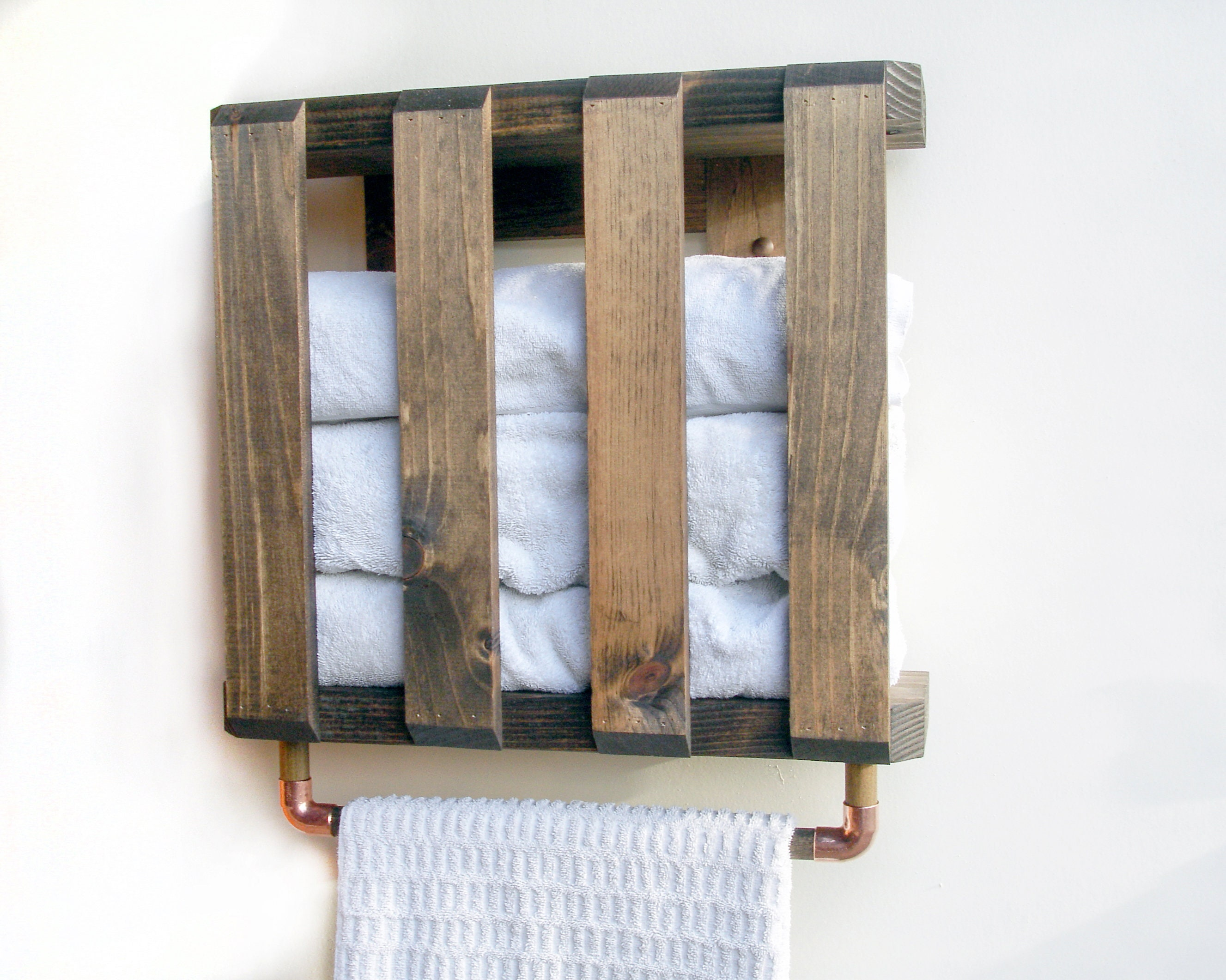 Bath Shelves, Bathroom Towel Storage, Bathroom Farmhouse Shelves