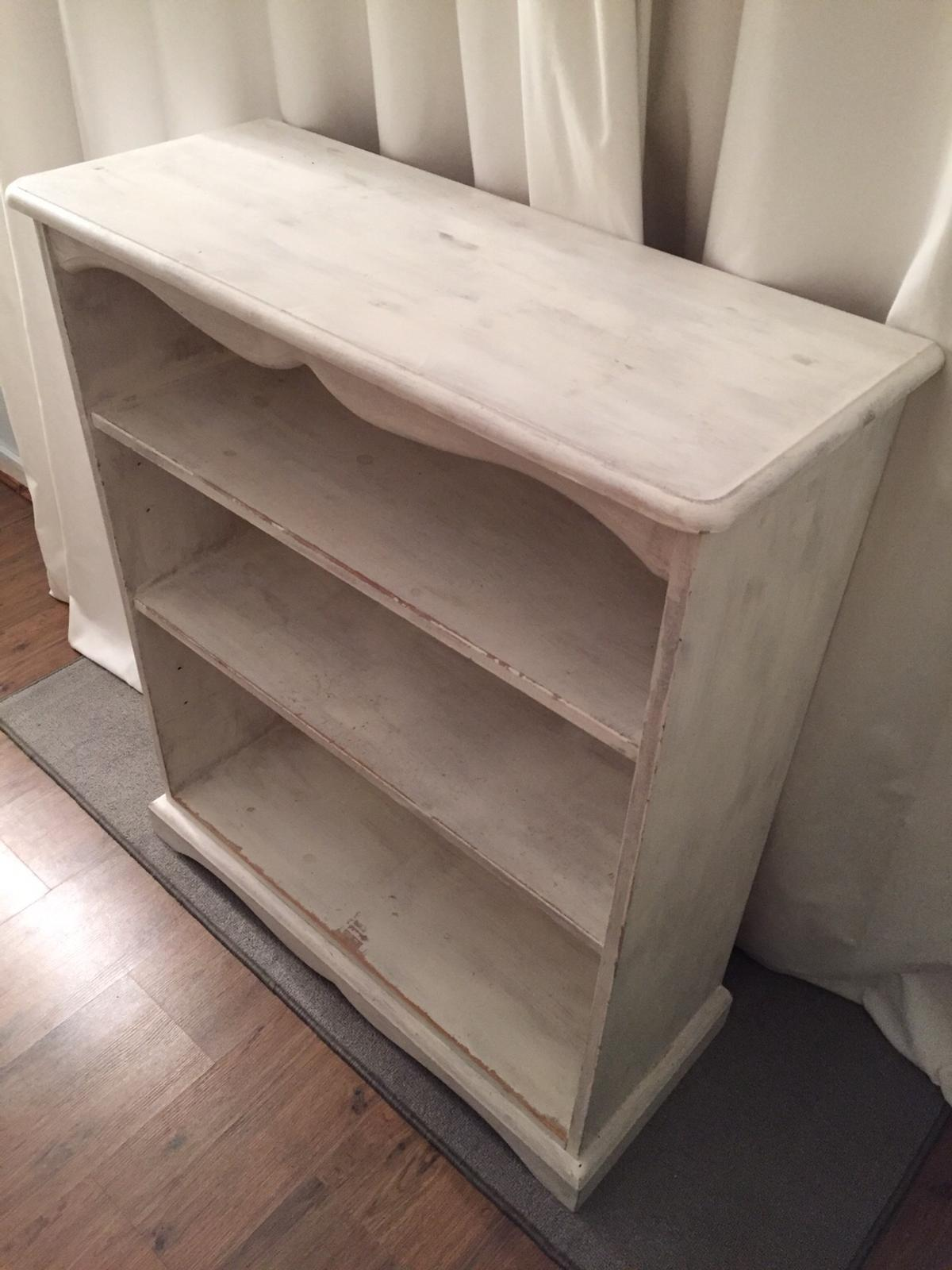 Painted Pine Shelves
