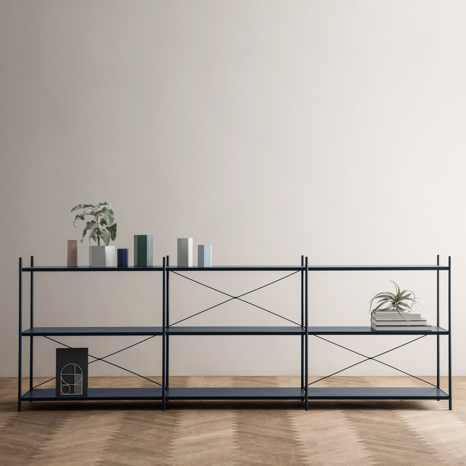Ferm Living's Furniture Collection Includes Perforated Shelves
