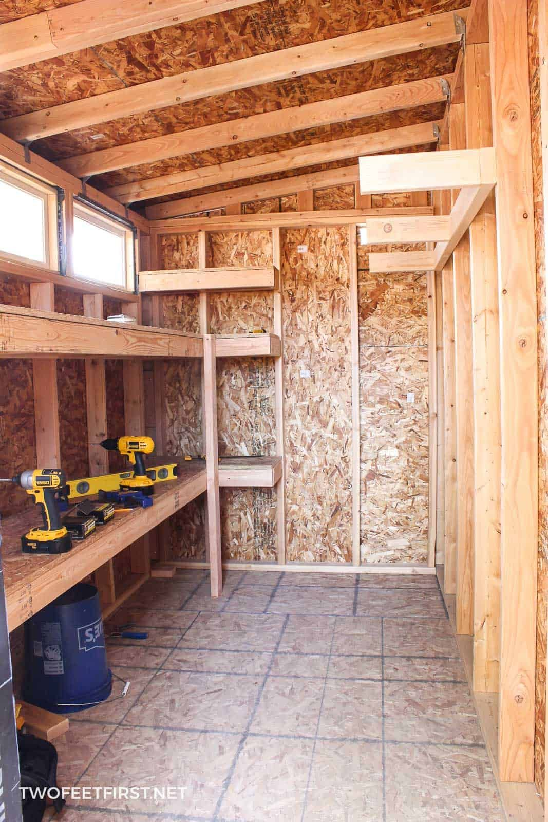 How To Build Storage Shelves In A Shed Or Garage | Garage | Backyard