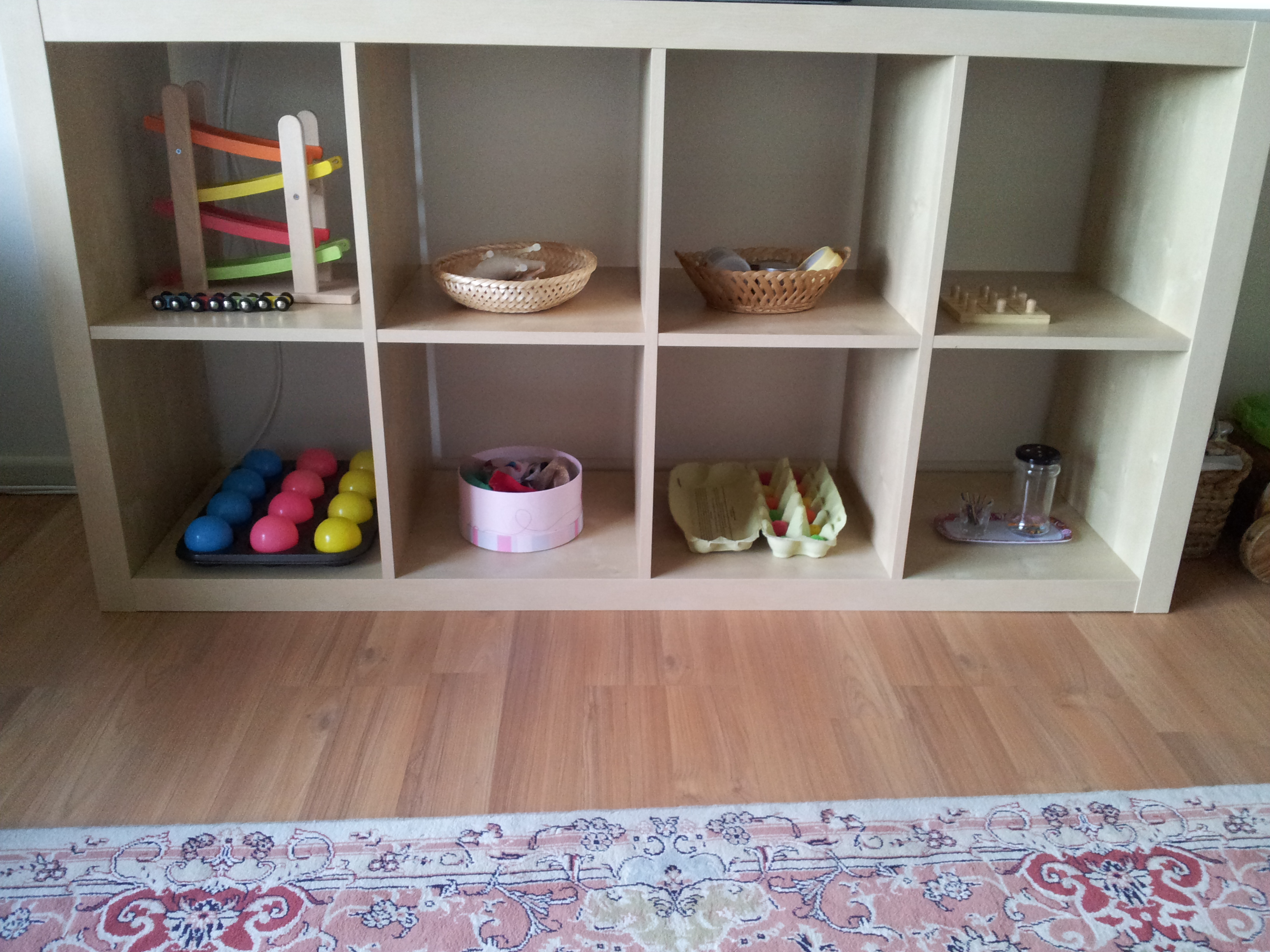 On Our Shelves At 16 Months   Our Montessori Journey