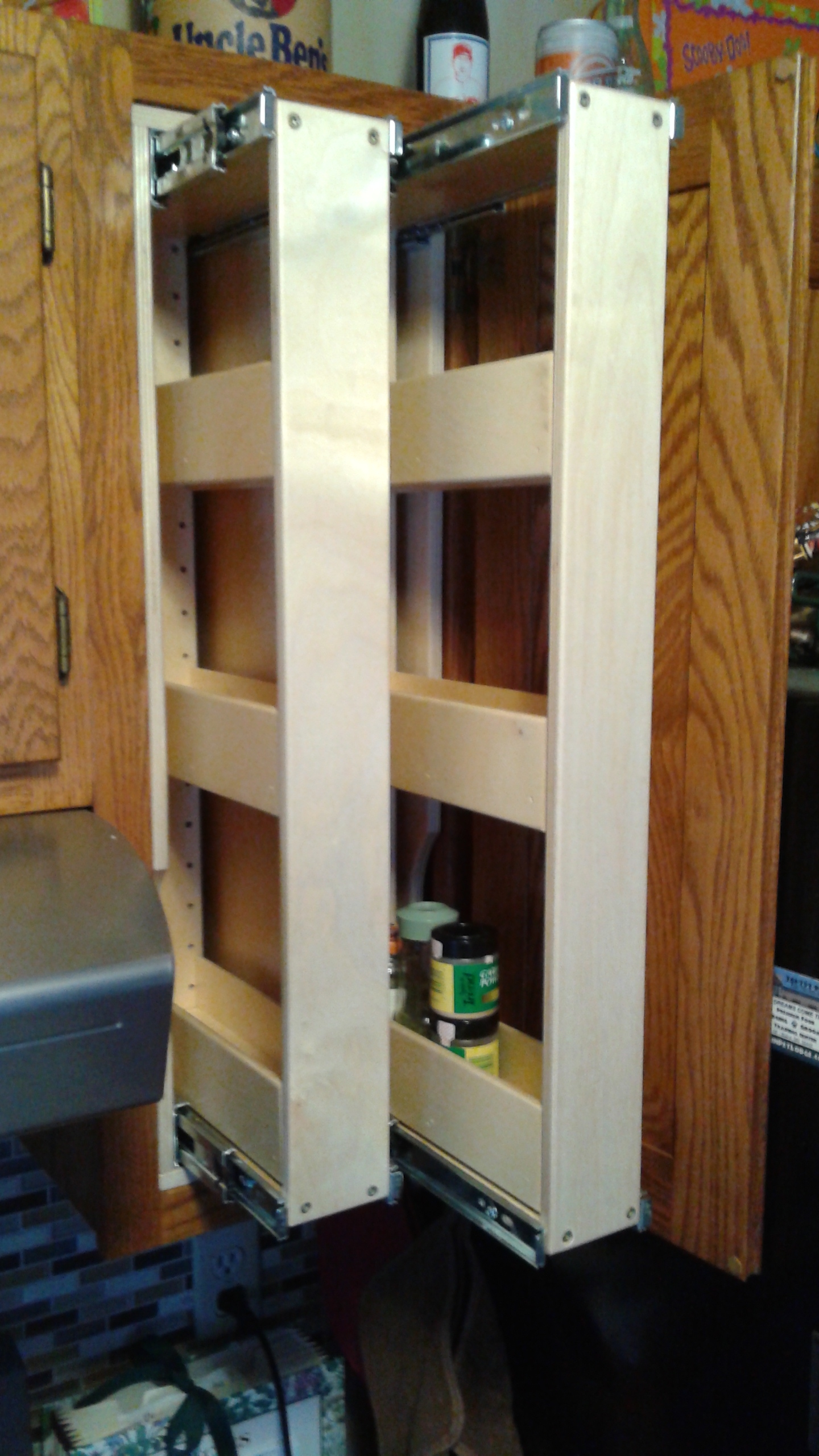 Verticle Roll Out Shelves - Help Your Shelves