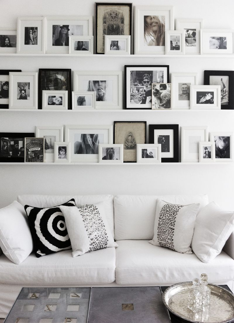 Photo Frame Inspiration | Other | Wall, Picture Shelves