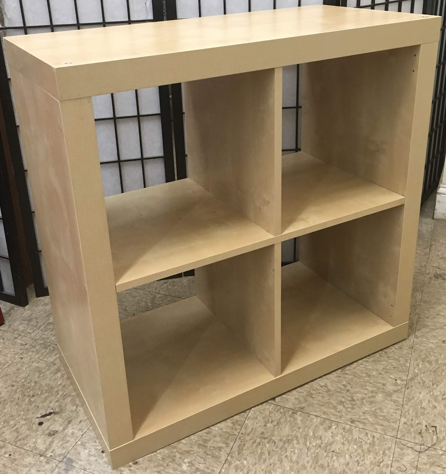 Uhuru Furniture & Collectibles: Pair Of 2 X 2 Cubby Shelves