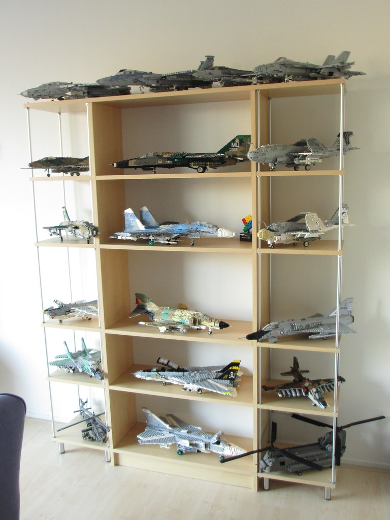 Aircraft Shelves (feb 2016) | The Contents Of These Shelves