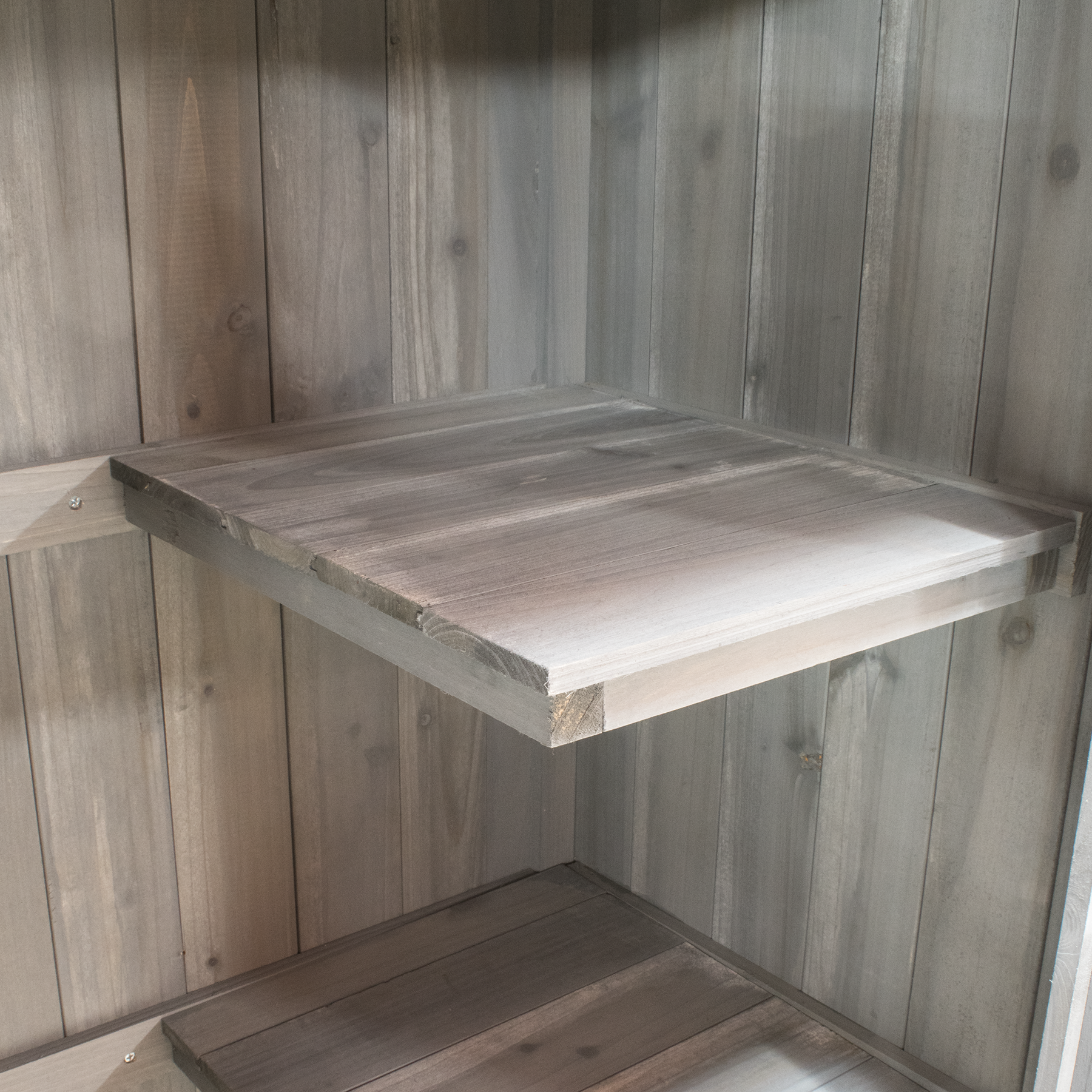 Details About Wooden Apex Roof Garden Storage Shed Cupboard Outdoor Tool  Cabinet Shelves