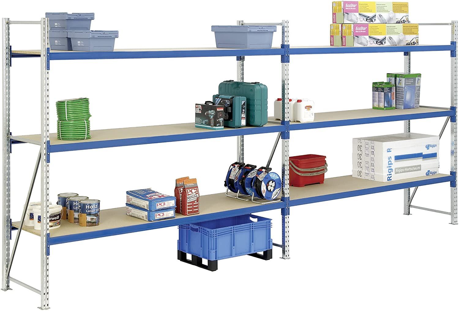Bito 19 - 25775 Long Span Egale With Chipboard Shelves