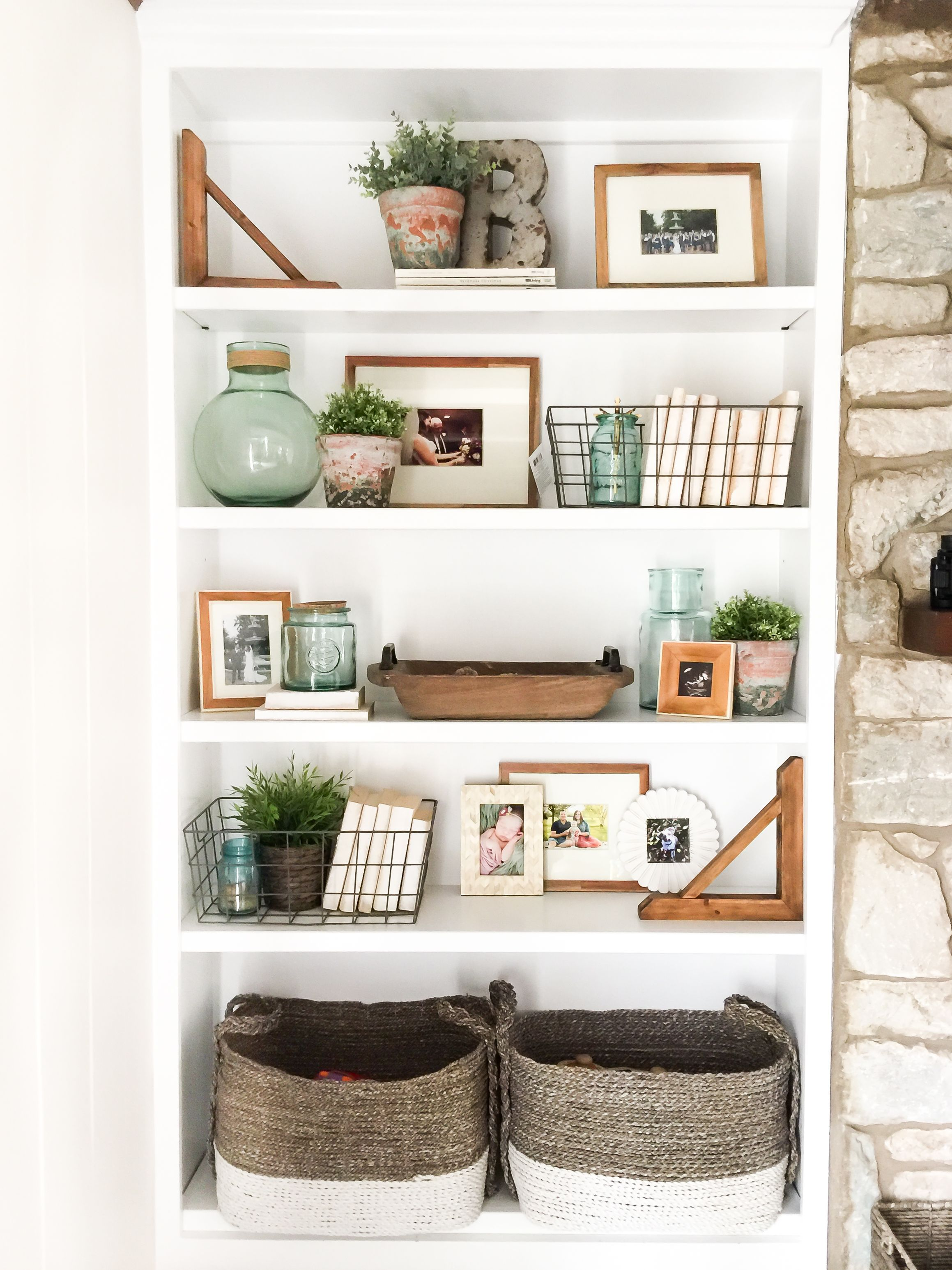 How To Style Open Shelves: 3 Tips For An Uncluttered Look | Home