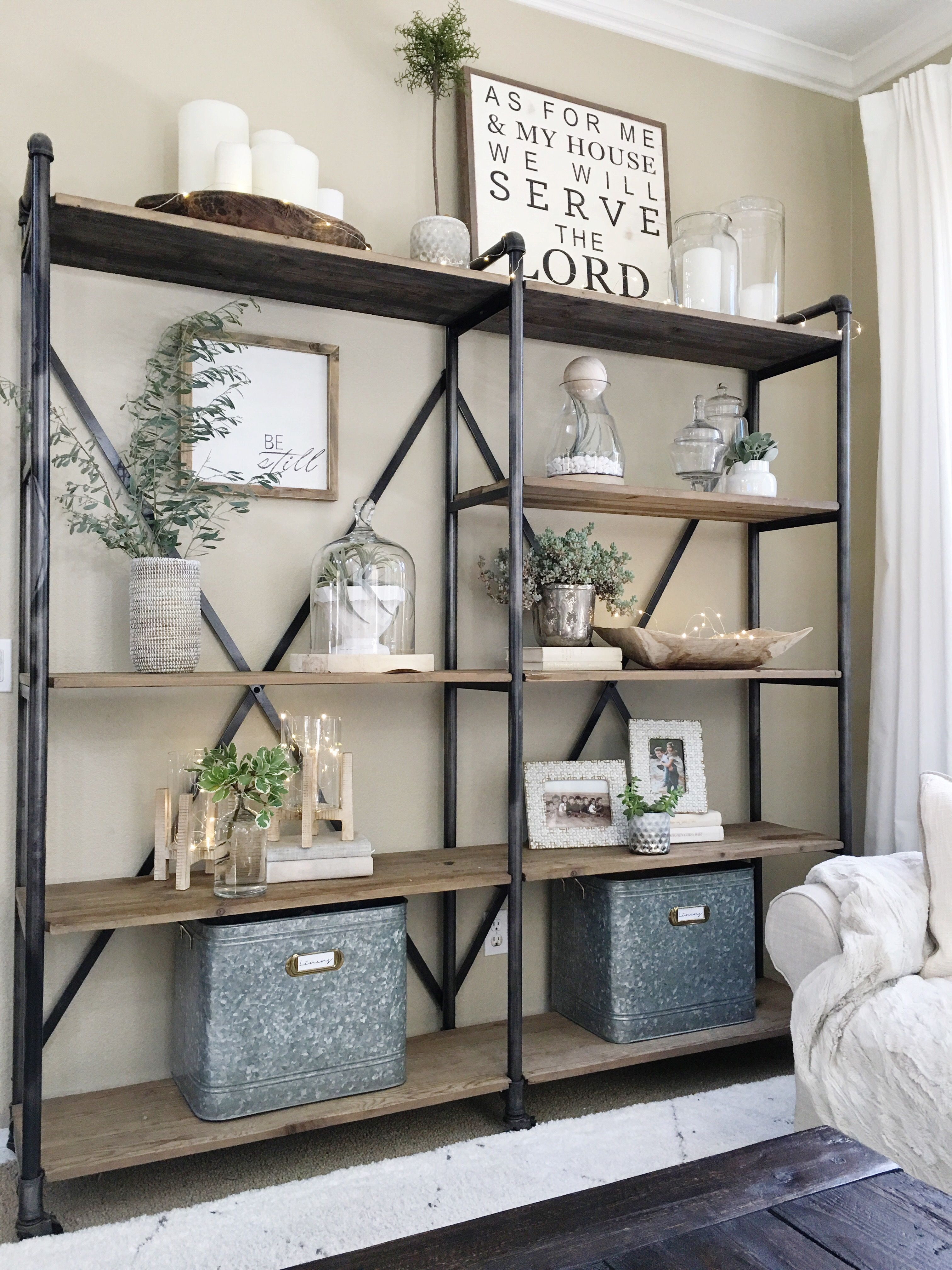 Simplified Shelves | Furniture For New Condo | Modern